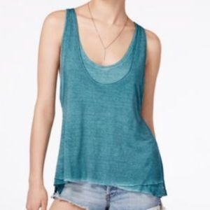 Free People | We the Free Muted Turquoise Tank Top